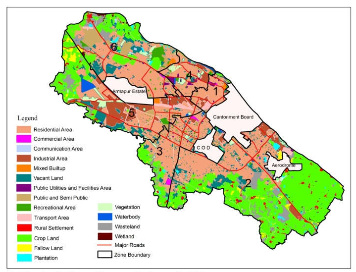 Kanpur Map